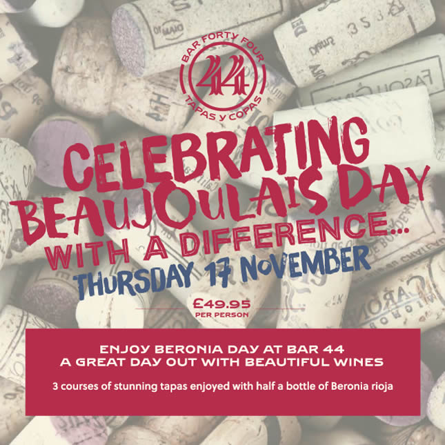 Celebrate Beaujoulais Day With a Difference