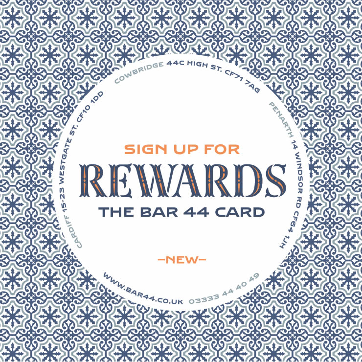 Bar 44 Rewards